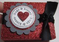 Red glitter box 1