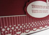 Filled With Love Notes - hearts border