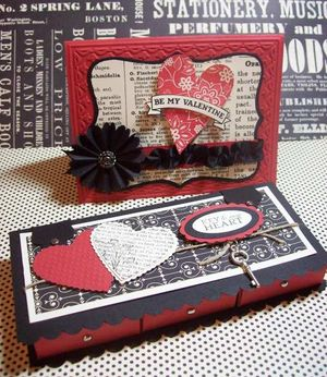 Michelle's card & nugget box
