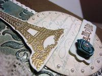 Manda's card - closeup