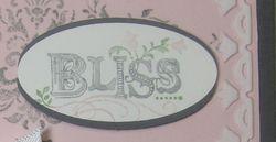 Darla's Bliss card 1 closeup