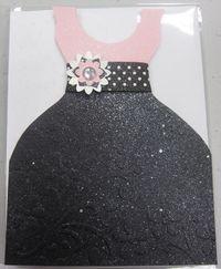 Peggy - pink & black dress