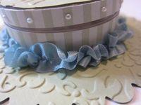 Easter bonnet - seam binding