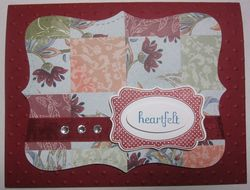 Four frames - cherry quilt