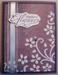 Inked impressions - plum happiness