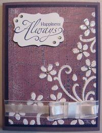 Inked impressions - plum happiness 2