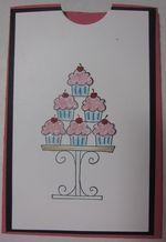 Carmen - crazy for cupcakes gc holder