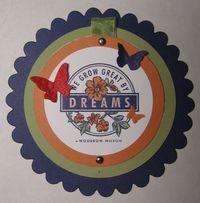 Dreams Telescoping Card - front