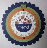 Friend Telescoping Card - front
