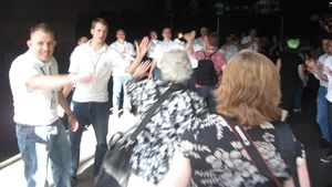2011 Convention - walking in