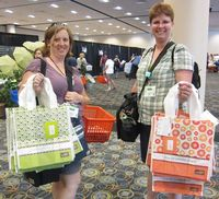 2011 Convention - Mall totes with D+J