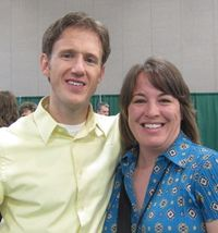 2011 Convention - me & Brian Pilling