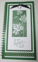 Club - vicki altered notebook