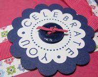 Club - carmen top note gc holder button