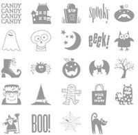 Spooky bingo bits 123946L