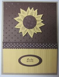 Hoover flowers - bird punch sunflower
