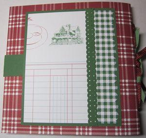 Kringles notebook - back