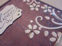 Inked impressions - glitter close 2