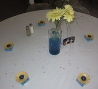 Wedding favors on the table