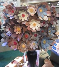 2011 Convention - flowers lamp