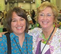 2011 Convention - me & Donna Griffith 2