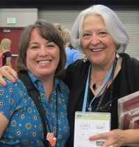 2011 Convention - me & Ellen