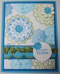 Delicate doilies blue 2