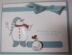 Democ - carmen snowman slider