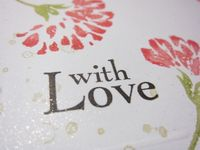 Love & care close up