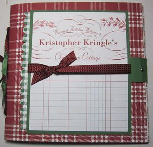 Kringles Notebook - front