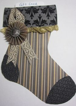 Black mocha stocking gc