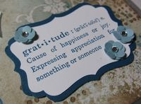 Gratitude Jounal - label