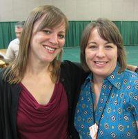 2011 Convention - me & Amanda R
