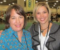 2011 Convention - me & Holly Linford