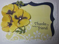 Hoover flowers - butterfly pansies