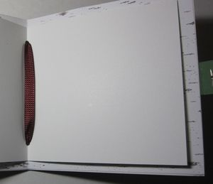 Kringles notebook - ribbon center
