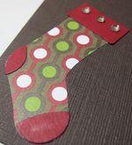 Christmas Lane - stocking