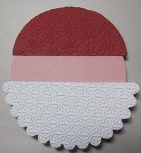 Santa gift card holder - layer 1