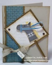 Stitched stocking hobby horse - jackie topa