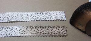 Socks - crochet trim