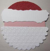 Santa gift card holder - layer 2