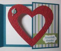 Heart gate fold - bird 3