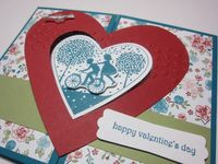 Heart gate fold - bicycle 2