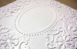 Double embossing - finished 2
