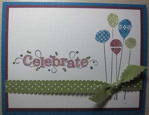 Celebrate balloons h