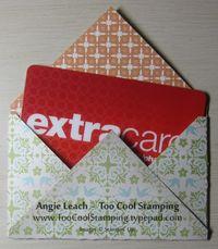 Envelopes - gift card