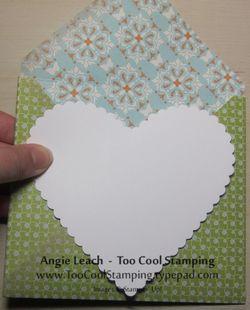 Envelopes - large heart