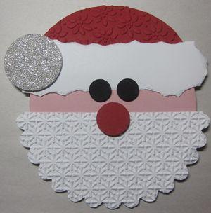 Santa gift card holder - layer 3