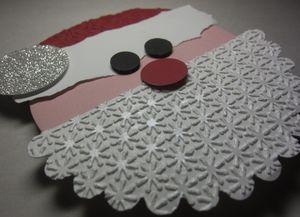 Santa gift card holder 2