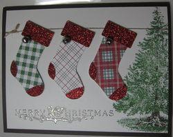 Frostwood stocking trio
